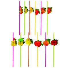 MULTI VALUE 36 x Cocktail 3D Fruit Drinking Straw Assorte... https://www.amazon.co.uk/dp/B00P9DKCJC/ref=cm_sw_r_pi_dp_YHduxbR70F0HF