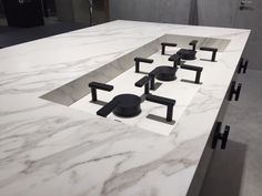 Nice solution to lessen the impact of the burners on your kitchen top.