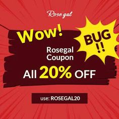 Off From Rosegal - Black Friday - Cyber Monday Sales