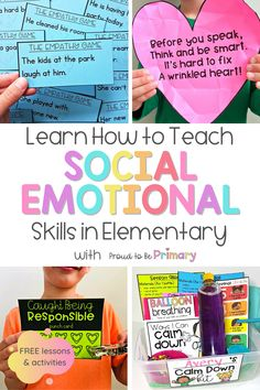 Every kindergarten, first, second, and third grade teacher need to take this free social emotional learning email course to learn effective ways to teach social skills and healthy emotional development. Learn how to engage kids and teach mindfulness with games, activities, writing lessons, book suggestions, and free resources. #socialskills #socialemotionallearning #charactereducation
