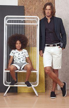 #ETAFASHION #styleguidemagazine2015 #nuevacoleccion #newcollection #man #kids #august #camiseta #bermuda #blazer #camisa