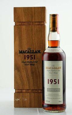 Macallan Jahrgang 1951 * Fine & Rare Series * in Holzkiste 48,8% vol.
