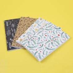 How pretty are these patterned notebooks for Nathalie Ouederni? Our notebook prices are so cheap, you better get designing!