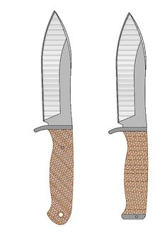 tops_wind_runner_XL Model (1).pdf - OneDrive Knife Template, Diy Knife, Knife Patterns, Blacksmith Forge, Plumbing Tools, Patent Drawing, Wood Joinery, Cool Knives, Custom Knives