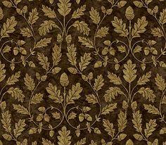 Interior Place - Mocha Acorn Trail Wallpaper, $23.40 (http://www.interiorplace.com/mocha-acorn-trail-wallpaper/)