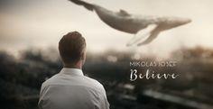 Martin Stranka - Believe Surrealism Photography, Conceptual Photography, People Photography, Digital Photography, Art Photography, Believe, Nature Prints, Big Love, Bored Panda