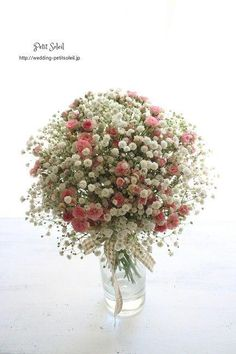 Might be nice instead of just plain gyp bouquets for bridesmaids.