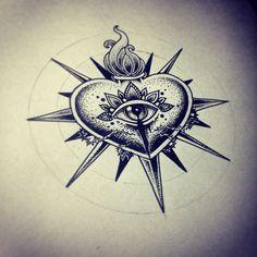Hearts on Behance Vika Naumova