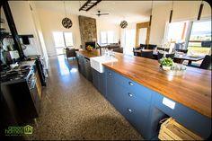 Green Homes, Kitchen Island, Home Decor, Island Kitchen, Decoration Home, Room Decor, Home Interior Design, Home Decoration, Interior Design