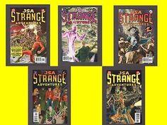 LOT OF 5 JSA STRANGE ADVENTURES #1, 2, 3, 4, 5 Kevin Anderson DC Comic Book 2005