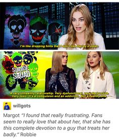 Not Marvel but felt the need to post this because its important. People should not be shipping Harley and the Joker. It is an abusive relationship, not romantic