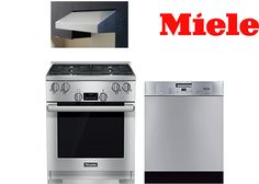 Best 30 Inch Wolf, Dacor, Miele & Jenn-Air Pro Range Packages