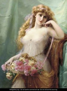 Sweet as roses - Emile Vernon - WikiGallery.org, the largest gallery in the world