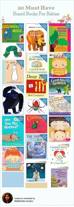 Language Development LC3: The older infant shows enjoyment of the sounds and rhythms of language. Support infant's use of language by talking to, reading and singing in home language. These pin supports appropriate books for reading.