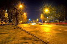Near the Central Park in Timisoara