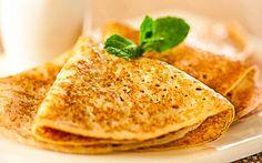 Healthy Coconut Oil Apple Pancakes