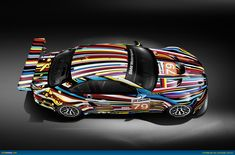 BMW Art Cars - 2010 M3 GT2 by Jeff Koons