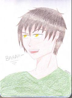 baka prismacolor colored pencil drawing