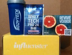 BodyTech blender cup and Whey Tech Pro 24 protein shake, Strawberries and Cream…