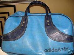 1aa99202d Where's my gym bag? Adidas Bags, 1970s Childhood, My Childhood Memories,  Duffel