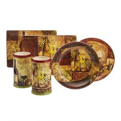 One of my favorite discoveries at Christmas Tree Shops andThat! - Vintage Vino Serveware
