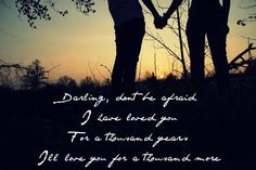 A Thousand Years by Christina   Perry(:
