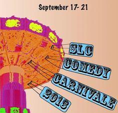 SLC Comedy Carnivale | No clowns. Just comedy.