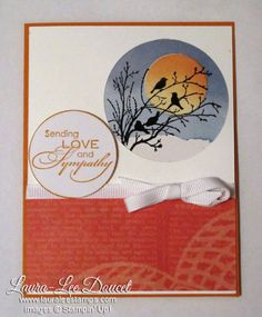 Stampin' Up! Serene Silhouettes Sympathy card
