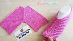 Knitting Basics: Getting Started crochet hem-stitch slippers tutorial with two skewers – The Best Ideas Knitting Basics, Knitting Blogs, Knitting Kits, Knitting Wool, Knitting For Beginners, Free Knitting, Knitting Socks, Baby Knitting, Knitting Patterns
