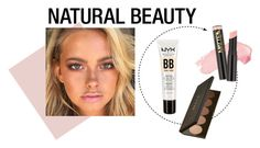 """""""Natural Beauty"""" by selamilano ❤ liked on Polyvore featuring beauty, NYX, L.A. Girl, Becca, Beauty, look, makeup, ootd and natural"""