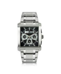 db6352d90e JUST CAVALLI Just Cavalli Men s Silver Steel Watch.  justcavalli   Amazing  Watches