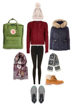 """Winter Wishlist!"" by pippahoel on Polyvore featuring Fjällräven, Timberland and Topshop"