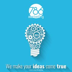 At 786.Marketing we work based on your ideas to create the best digital marketing strategies for your business. #786.Marketing #Marketing #Experts #DigitalMarketing #AboutUs #Company #Brand #InboundMarketing #DigitalMarketing