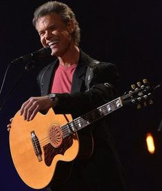 Randy Travis. I saw him in the early 1990s. Ricky Van Shelton opened for him.