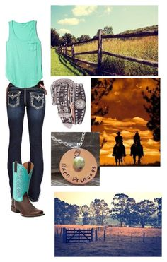 """""""Summer stay forever!!!:)"""" by countryprincess-99 ❤ liked on Polyvore featuring Miss Me, LA Made, Ariat and Blazin Roxx"""