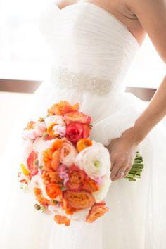 Modern, Colorful Las Vegas Wedding