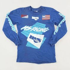 0a4f3f4a5 Vintage 80s MS Racing Malcolm Smith MSR Motocross Jersey Shirt for sale!  https:/