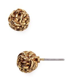Lauren Ralph Lauren Knot Stud Earrings | Bloomingdale's