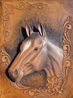161neue Fotos · Album von Jim Linnell Wood Carving Designs, Wood Carving Patterns, Wood Carving Art, Wood Art, Leather Carving, Leather Art, Leather Design, Wood Sculpture, Sculptures