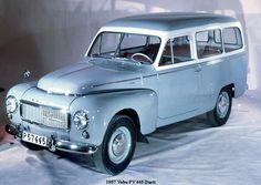 Volvo 445 fra 60'erne. Herregårdsvogn :-)