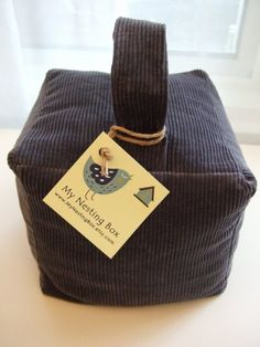 Fabric Door Stop... Need to make this for our bedroom!!