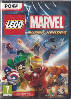 LEGO Marvel Super Heroes  (PC DVD) BRAND NEW