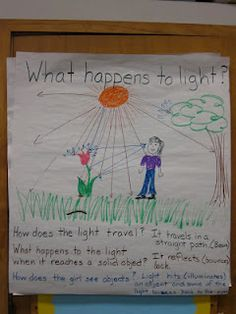 Solid information on teaching light and how to teach scientific writing.  There are also good math anchor charts.