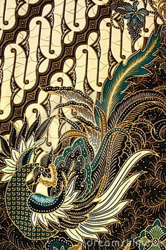 Photo about Detailed Batik Pattern, Yogyakarta, Indonesia. Image of drawing, decor, backgrounds - 13804340 Batik Art, Batik Prints, Textile Patterns, Textile Art, Design Patterns, Shibori, Batik Kebaya, Indonesian Art, Javanese