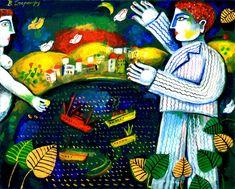 Θάλασσες | Τέχνες | City Guide | LiFO Painting, Art, Art Background, Painting Art, Kunst, Paintings, Performing Arts, Painted Canvas, Drawings