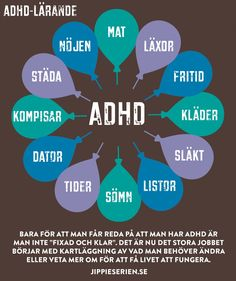 ADHD-lärande Adhd Help, Add Adhd, Learning Support, Language And Literature, Adhd And Autism, Helping Children, Autism Spectrum Disorder, Aspergers, Dyslexia