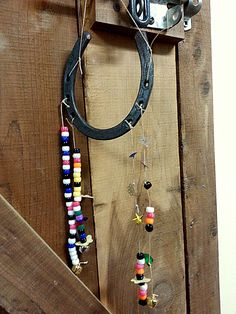 Do this with letter beads and spell the horses names Barn Crafts, Vbs Crafts, Camping Crafts, Horse Crafts Kids, Crafts For Kids, Arts And Crafts, Old Macdonald Birthday, Horse Birthday Parties, Horse Camp