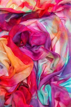 Hibiscus Bloom Scarf by Amy Sia