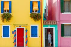 colorful houses - Google Search