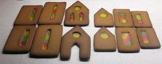 Honningkage hus OBS: vinduer af bolcher